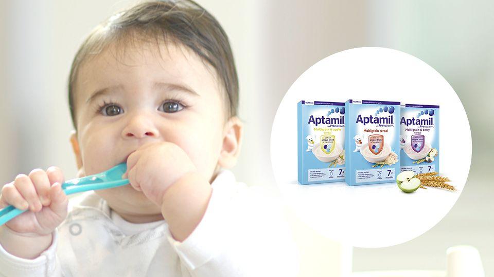 Aptamil Multigrain Cereal - Baby Cereal - Aptaclub