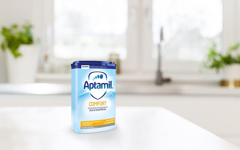 Aptamil™ Comfort Baby Milk - Colic and Constipation Relief