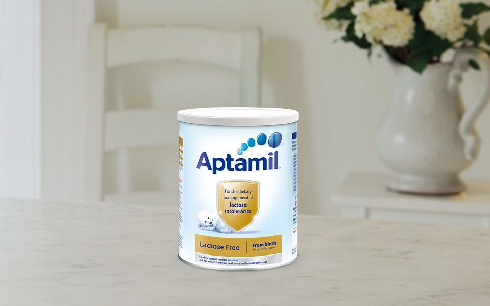Aptamil Lactose Free Milk for Lactose Intolerant Babies