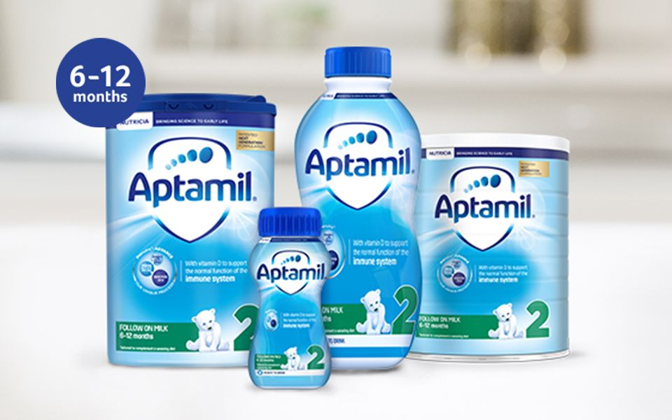 Aptamil™ 2 Follow On Milk - 6-12 Months Baby Milk - Aptaclub
