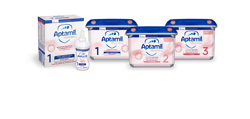 NEW Aptamil SENSAVIA Baby Milk Formula With Broken Down Protein
