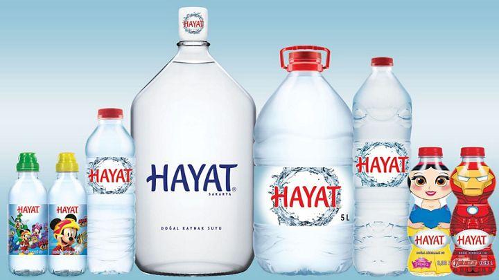 Hayat water - Danone