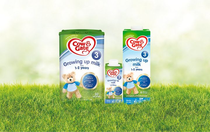 Growing Up Milk For Toddlers Aged 1 2 Years Cow Gate