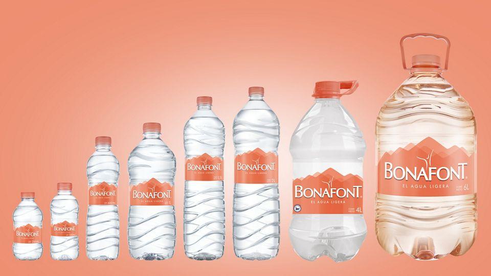Bonafont water - Danone