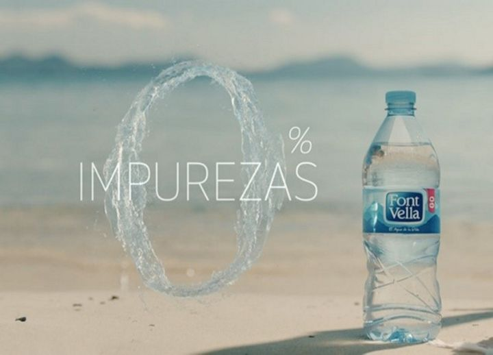 Font Vella water - Danone
